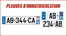 http://www.cleacode.com/, plaques d'immatriculation